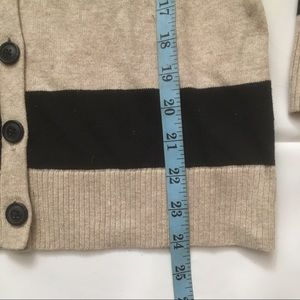 GAP Sweaters - Gap cotton striped button front knit cardigan